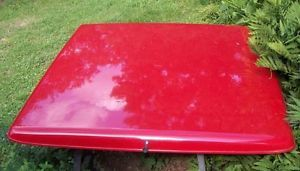 Truck Bed Cap Fiberglass Tonneau Cover 6 1 2' Bed