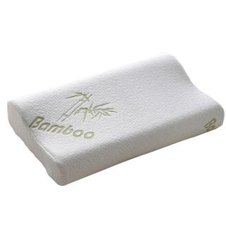 New Bamboo Fiber Slow Rebound Memory Foam Pillow Cervical Health Care 30x50cm
