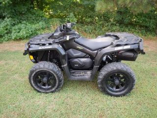 2012 Can Am Outlander 1000 XT Used ATV Quad 4 Wheeler 4x4 Clear Title Free PU
