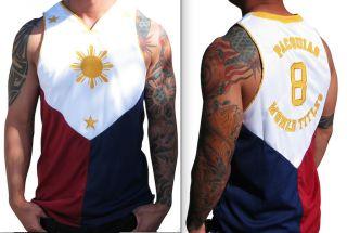 Filipino Flag Jersey Manny Pacquiao Shirt Philippines