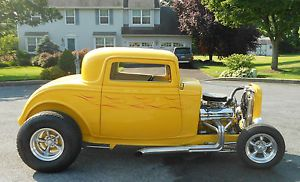 1932 Ford 3 Window Coupe Hot Rod Deuce Coupe Street Rod American Graffiti Car