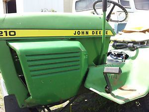 John Deere Lawn Tractor 200 Series for Parts
