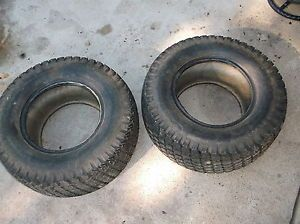 John Deere 317 Garden Tractor Rear Tires Goodyear Terra Tire 23 x 10 50 12