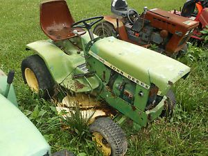 John Deere 140 Lawn Garden Tractor for Parts not Running