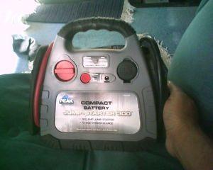 Peak 300 Amp Jump Starter Charger Car Auto Automotive Battery Recharging Jumper