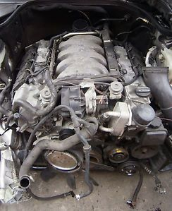 01 02 Mercedes Benz CLK55 Engine Transmission 722 636 Type 208