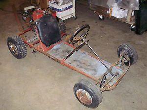 Vintage Go Kart Fantic Bronco Rat Rod Hot Rod Vintage Racing Go Cart