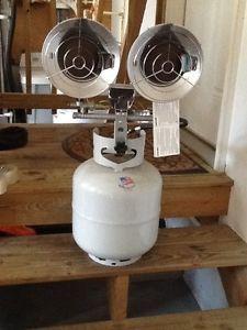 Master Heaters Fans MH 30 TT Heater Propane Tank Top