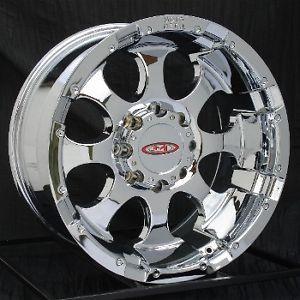 20 inch Chrome Wheels Rims Ford F250 F350 Super Duty 8 Lug Truck Excursion 8x170