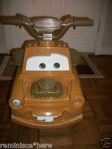 Child's Battery Ride on Car Tow Mater Truck from Disney Cars Battery Charger