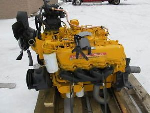 Caterpillar V8 3208 Diesel Engine Out of Ford 210 HP at 2800 RPM Ford 636 Used