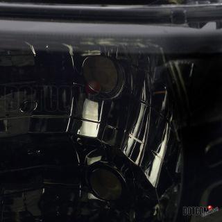 Chevy Silverado Tahoe Suburban Headlights w Bumper Fog Lamp Hood Grille Smoke