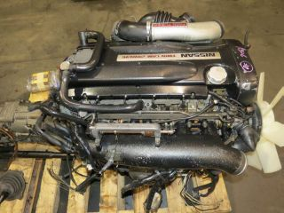 JDM Nissan Skyline GTR R32 RB26DETT Engine 5 Speed AWD Trans Motec M4 ECU