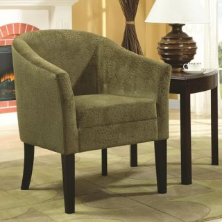 Coaster Furniture 902042 Accent Chair with Microvelvet Upholstery 902042