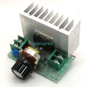 10000w 220V Adjust SCR Voltage Regulator Motor Speed Control Dimmer Thermostat