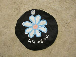Life Is Good Daisy Spare Tire Wheel Cover 28 Inch 13628