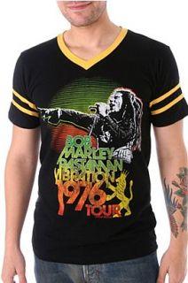 Bob Marley Rastaman 1976 Soccer T Shirt