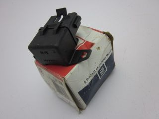 Corvette Delco Fuel Pump Relay Crossfire Injection 1982