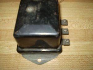 1938 39 Chevy Delco Remy Voltage Regulator '1118203