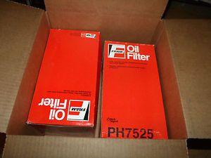Fram Lot of 2 Oil Filters Ph 7525 Hitachi Diesel PH7525 Filter Excavator