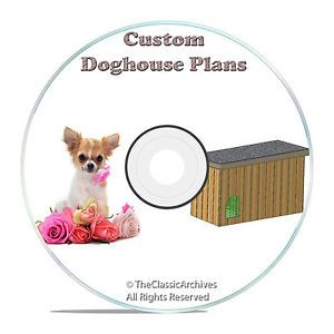 Insulated Dog House Plans Complete Set Multiple Dogs in One House Dog Kennels