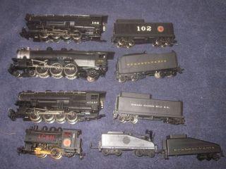 Lot of Rivarossi Spectrum Bachmann HO Steam Locomotives Engines Tenders