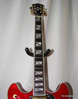 Washburn HB35WRK UNPLAYED Electric Semi Hollowbody Guitar w Hard Case HB35 WRK