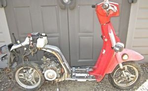 1986 Honda Spree Motorcycle Moped Gas Scooter Parts Engine Lights Wheels More