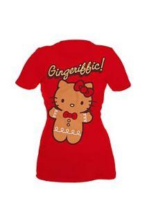 Hello Kitty Gingeriffic Girls T Shirt