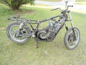 1982 Yamaha Seca Turbo XJ650 XJ 650 Rolling Chassis Wheel Engine Forks Part Bike