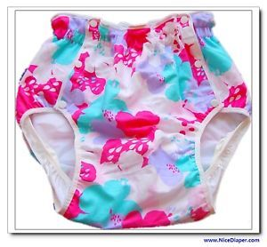 FUUBUU2215 090 Japanese Incontinence Adult Baby Diapers Plastic Pants Cover XXL