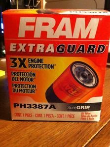 Fram Extra Guard Oil Filter PH3387A New in Box