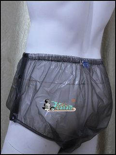 Adult Baby Plastic Pants PVC Incontinence P004 2T,Size x Large