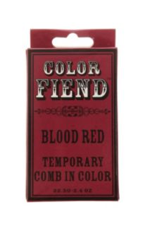 Color Fiend Blood Red Temporary Comb In Color