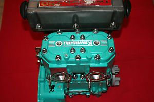 Kawasaki 750 Jet Ski Engine Big Pin with Twin Carbs Motor SX X2 650 Swap