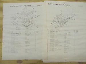 Kubota D650 Diesel Engine Parts Book
