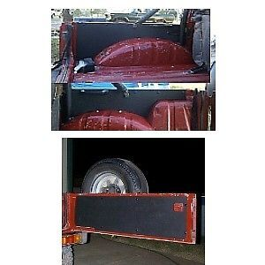 Suzuki Samurai ABS Plastic Tailgate Rear Side Panels