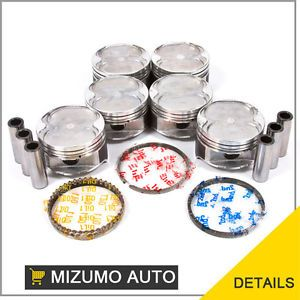 93 02 Ford Probe Mazda MX6 626 Millenia V6 2 5L KL Piston Set with Rings