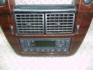 02 05 Explorer Dash Radio Trim Bezel Surround Auto Heater A C Temp Controller OE