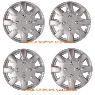 "Toyota Corolla Camry Sienna 14"" Silver Wheel Covers Hub Caps Set of 4 WC17TA"