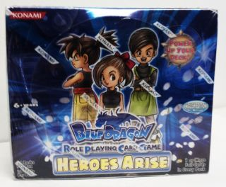 Blue Dragon Role Playing Card Game Heroes Arise Booster Box