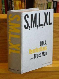 S M L XL Small Medium Large Extra Large REM Koolhaas Bruce Mau Signed