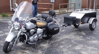 Tow Behind Motorcycle Trailer