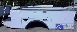 Utility Body Chip Boxes Beds for Bucket Trucks Cranes Digger Derricks Wreckers