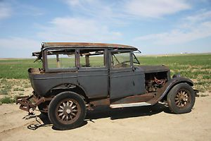 Willys Knight Model 70A 4 Door Sedan Parts Vehicle Car 70 A 1927