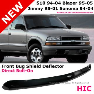 Chevy S10 Blazer GMC Jimmy Sonoma Front Hood Bug Shield Deflector Protector