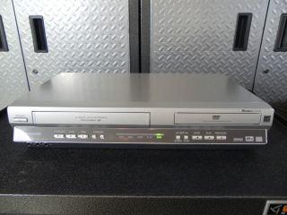 Mint Panasonic PV D4745S PV D4745 Dual Double DVD VHS VCR Recorder Year Warranty