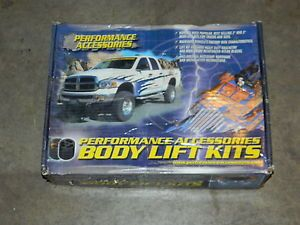 "New Performance Accessories 10013 Body Lift Kit 3"" Lift 88 94 Chevy GMC Truck"