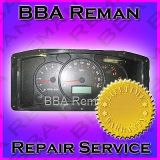 Instrument Cluster Repair: Workhorse Instrument Cluster Repair