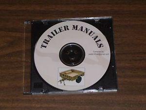 Army Military TM Manuals Cargo Trailers M100 M115 M101 M103 M116 M127 M200 M416